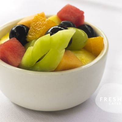 A side of fruit salad