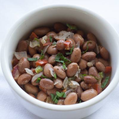 side of BBQ cowboy beans