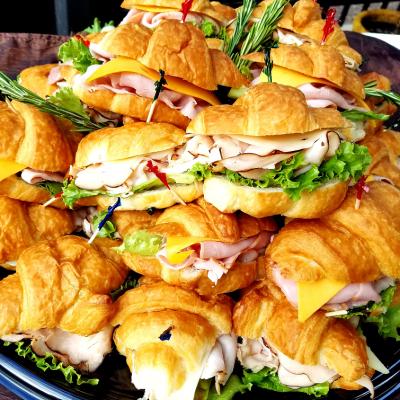 Freshella Catering Croissant Sandwich Platter