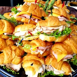 Freshella Catering Dallas croissant platter