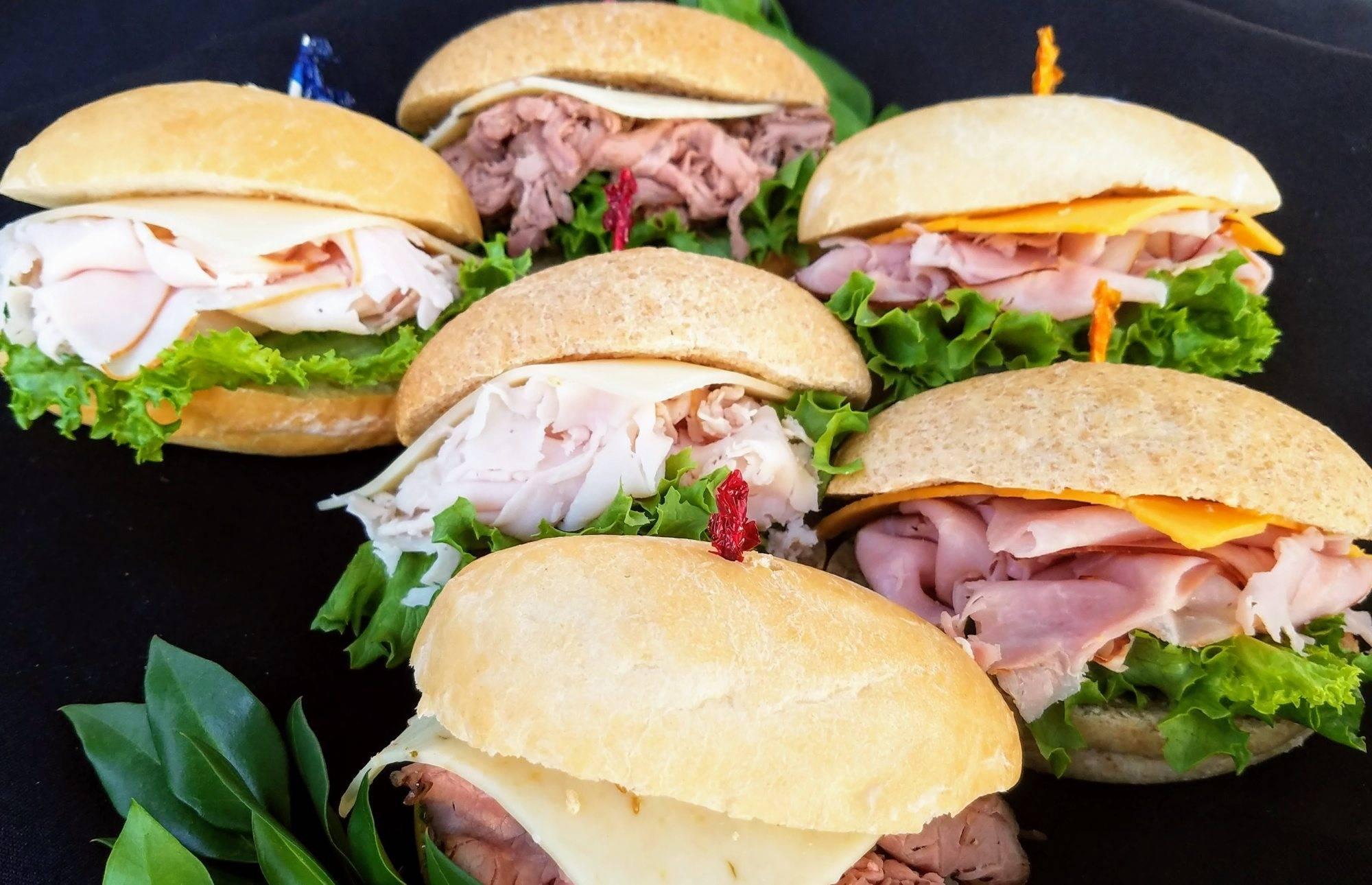Mini Sandwich Platter Freshella Catering Dallas Tx
