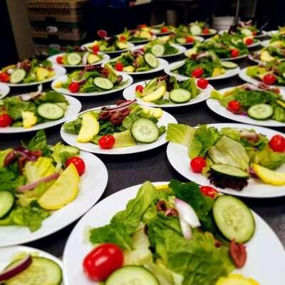 Salads and Rolls