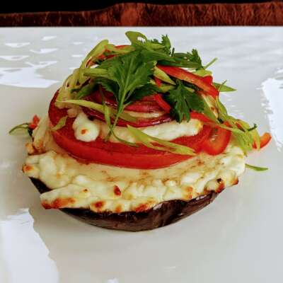 Eggplant Vegetarian Plate